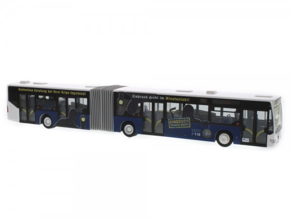 Mercedes-Benz Citaro G Euro 4 INVG-Polizeibus, 1:87