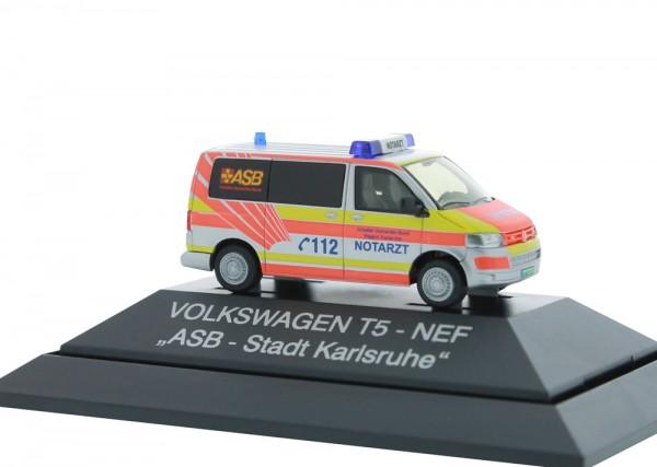 Volkswagen T5 `10 Notarzt ASB Karlsruhe, 1:87