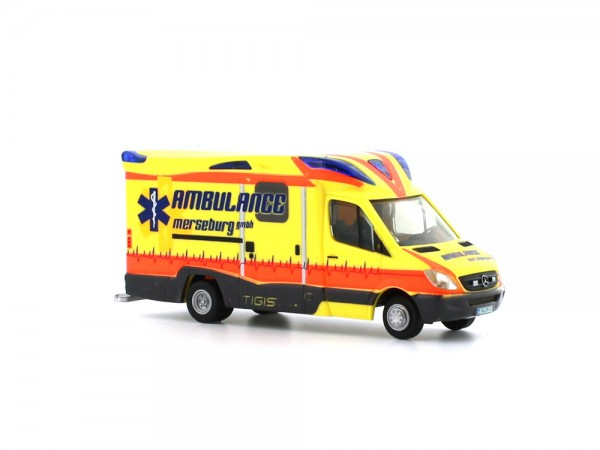 Ambulanz Mobile Tigis Ergo Ambulance Merseburg, 1:87