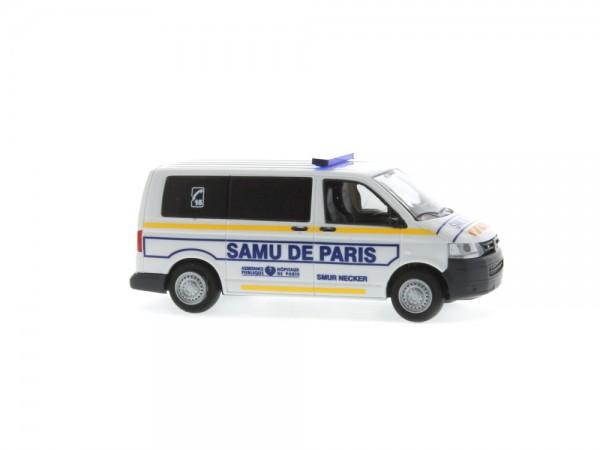 Volkswagen T5 ´10 Samu de Paris (FR), 1:87