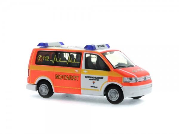 Volkswagen T5 `10 Notarzt Rettungsdienst Höxter, 1:87