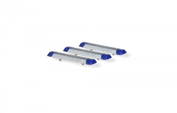 Hella RTK 7 Blaulichtbalken für LKW (3 Stück), 1:87