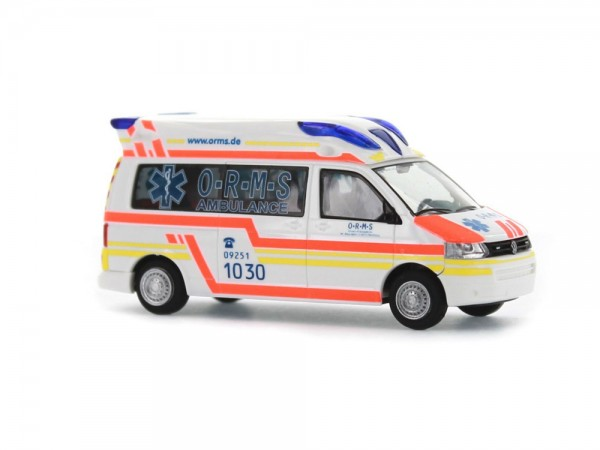 Ambulanz Mobile Hornis Baltic O-R-M-S Rettungsdienst Münchberg, 1:87