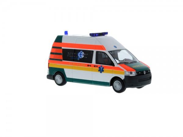 Volkswagen T5 ´10 Medicent Rettung Rotenburg, 1:87