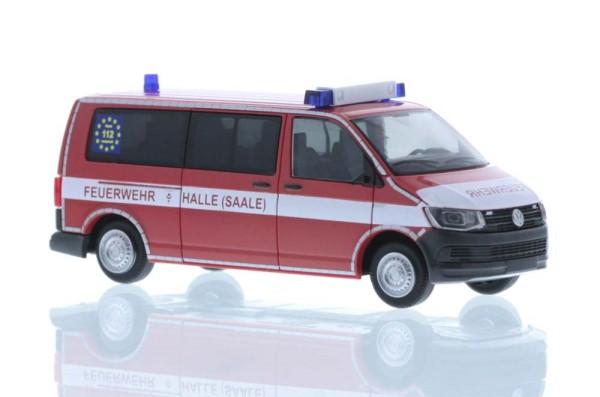 Volkswagen T6 Feuerwehr Halle/Saale, 1:87