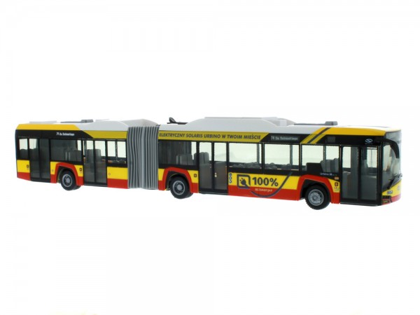 Solaris Urbino 18 ´17 electric Warszawa (PL), 1:87