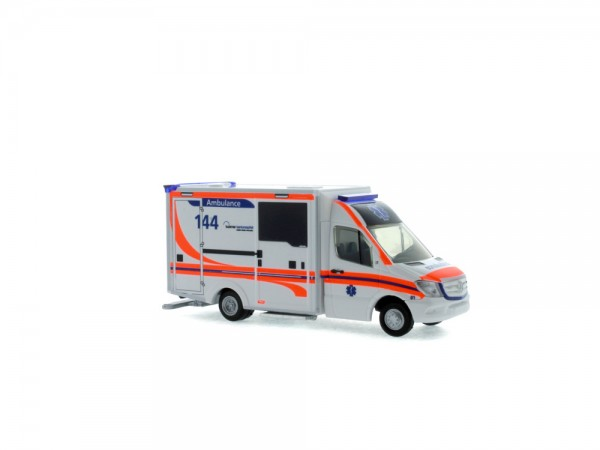 WAS Design-RTW Facelift Ambulance Kantonsspital Luzern (CH), 1:87