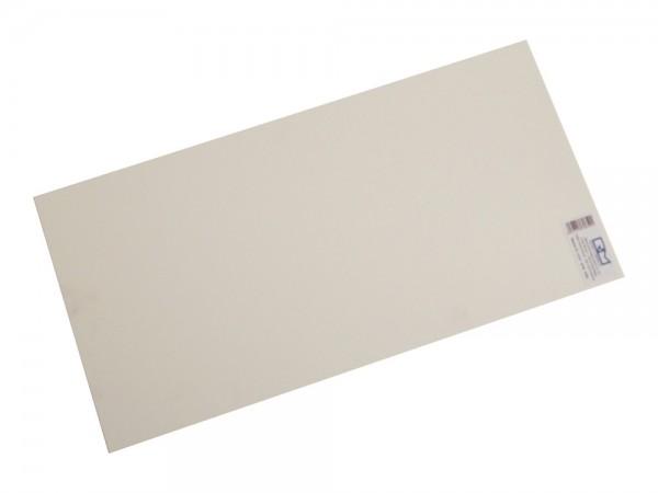 Unterbauplatte 500x 250x1 mm Material: PS, 1:87
