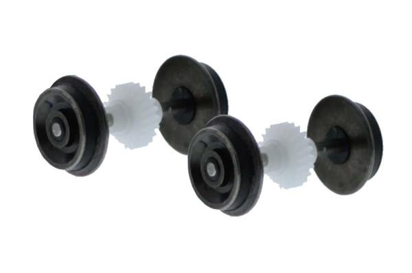 Haftreifensatz H0 für Universalantrieb, Raddurchmesser 9,0mm