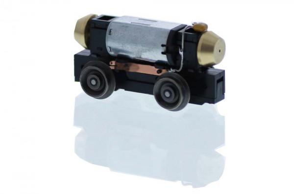Universalantrieb-Festeinbau H0m Motor 12V= 4 Räder, Achsstand 23mm