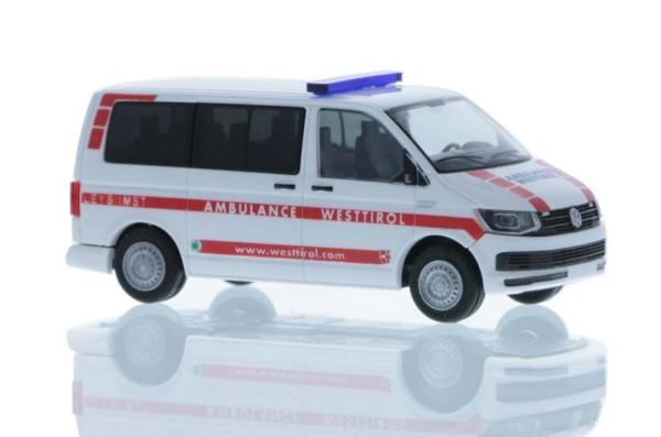 Volkswagen T6 Ambulance Westtirol (AT), 1:87