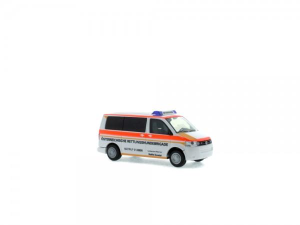 Volkswagen T5 ´10 Österr. Rettungshundebrigade Oberösterreich (AT), 1:87
