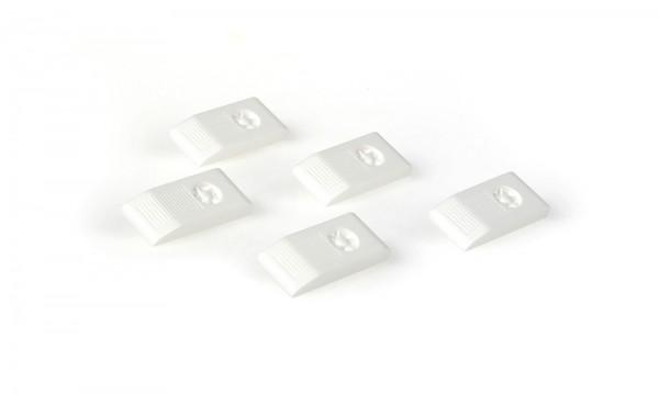Fahrerplatzklimaanlage weiß (5 Stück), 1:87