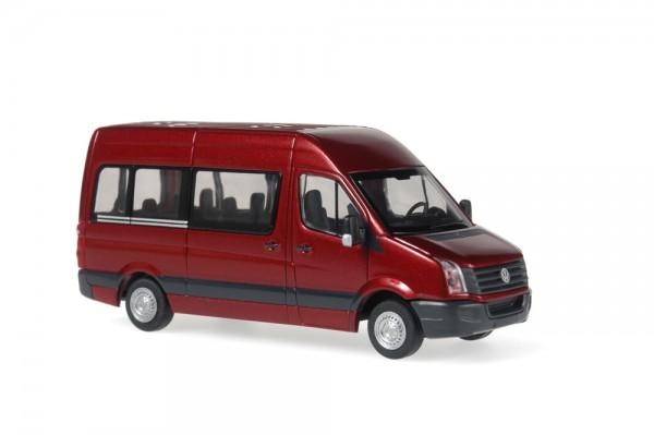 Volkswagen Crafter Bus 2011 tibetrot perleffekt, 1:87