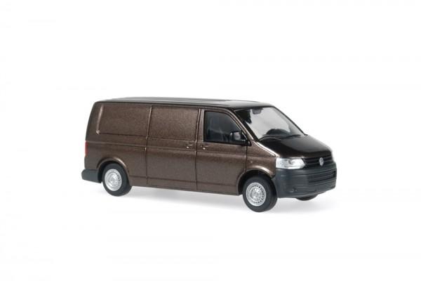 Volkswagen T5 ´10 FD LR Kasten metallic, 1:87