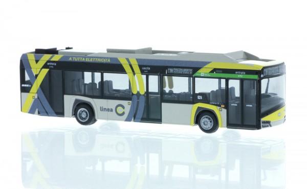 Solaris Urbino 12´14 electric ATB Bergamo (IT), 1:87