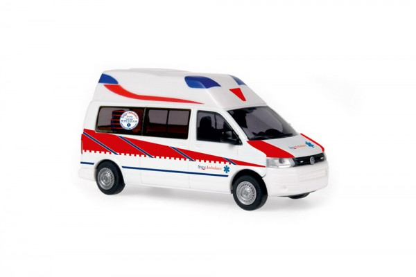 Ambulanz Mobile Hornis Silver Spree Ambulance, 1:87