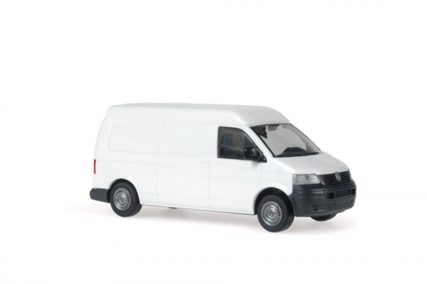 Volkswagen T5 MHD Kasten LR weiß, 1:87