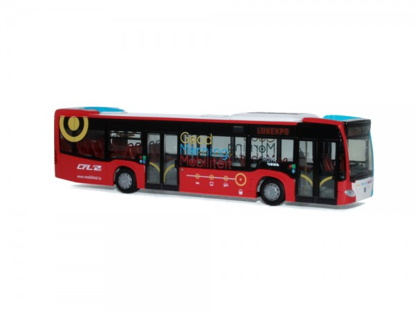 Mercedes-Benz Citaro ´12 Emil Weber - Good Morning Mobilität (LU), 1:87