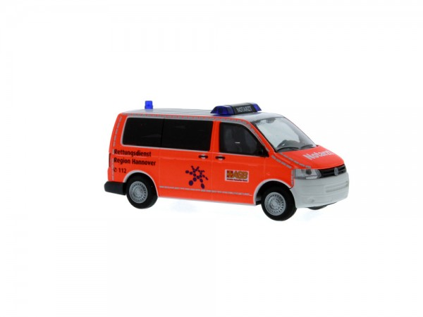 Volkswagen T5 ´10 Notarzt ASB Hannover, 1:87