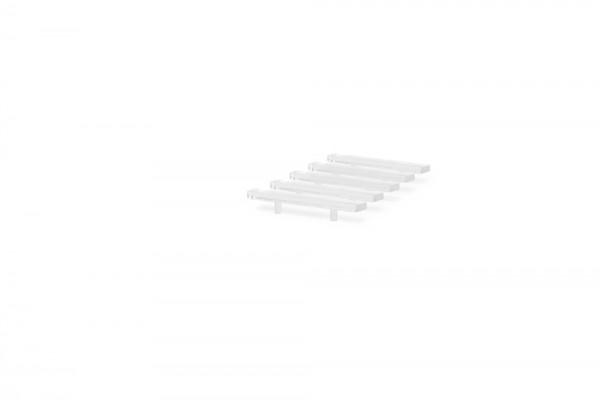 LED Balken für RTW/Transporter transparent (5 Stück), 1:87