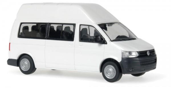 Volkswagen T5 '10 LR HD Bus weiß, 1:87