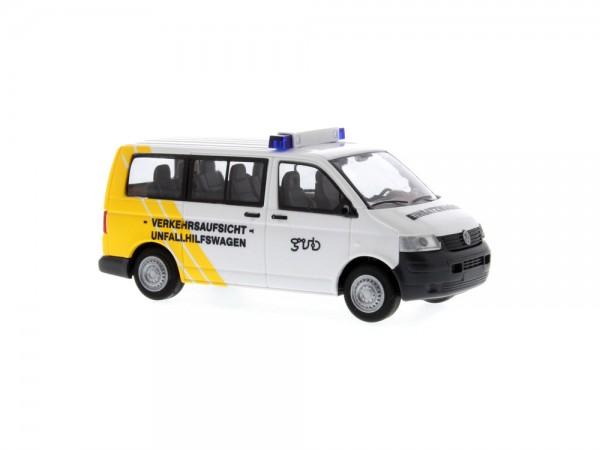 Volkswagen T5 Verkehrsaufsicht-Unfallhilfewagen Gera, 1:87