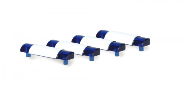 Blaulichtbalken 4er Set (Wietmarscher), 1:87