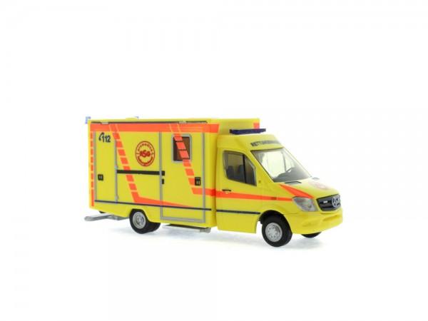 WAS RTW Facelift Promedica ASG Ambulanz Leipzig, 1:87