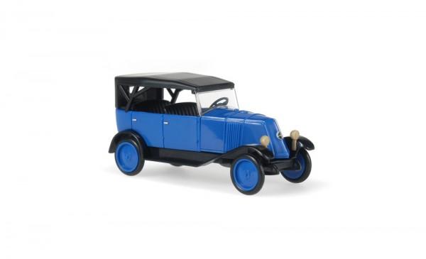 Renault NN1 Cabrio blau schwarz, 1:87