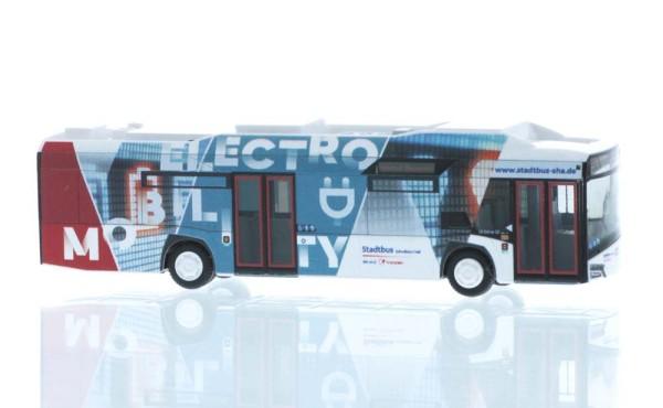 Solaris Urbino 12´14 electric Stadtbus Schwäbisch Hall, 1:87