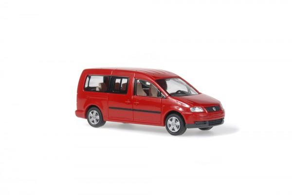 Volkswagen Caddy Maxi Bus 2007 farbig, 1:87