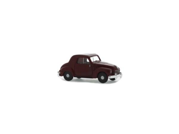 Fiat 500 C Topolino Limousine weinrot, 1:87