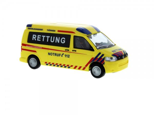 Volkswagen T5 ´10 Emergency Medical Service Thüringen, 1:87