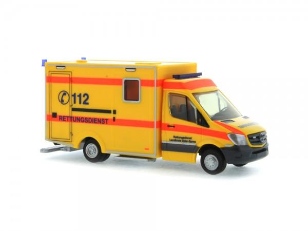 WAS RTW Facelift ´13 Rettungsdienst Landkreis Oder-Spree, 1:87