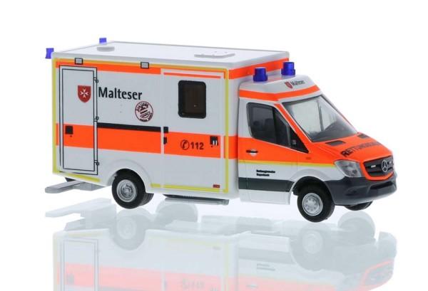 WAS RTW Malteser Rettungswache Bayerbach, 1:87