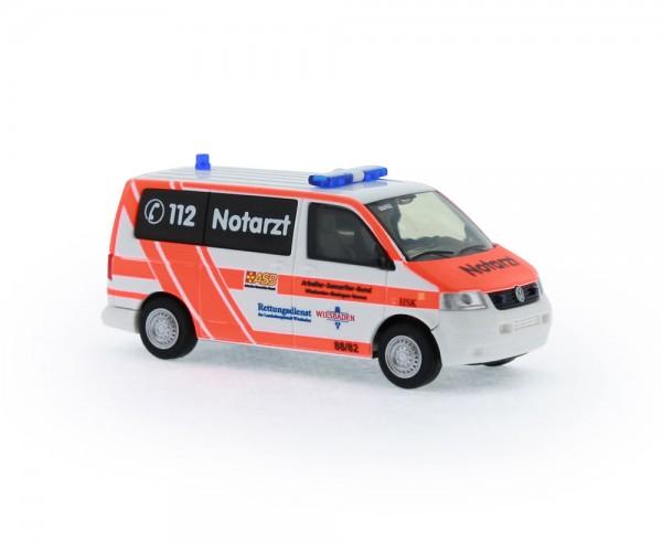 Volkswagen T5 Notarzt ASB KV Wiesbaden, 1:87