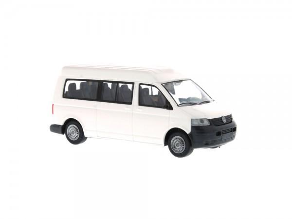 Volkswagen T5 MHD Bus LR weiß, 1:87