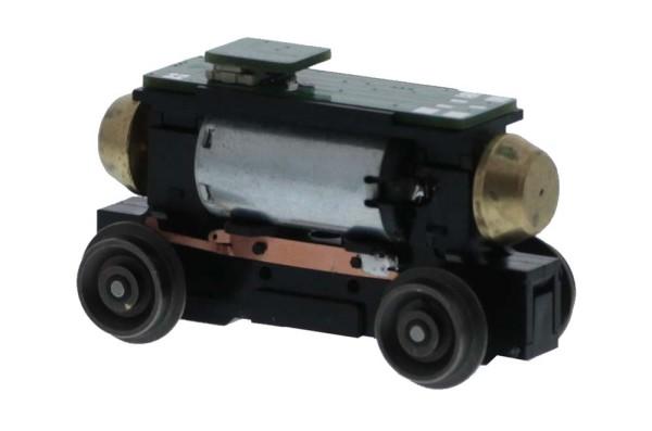 Universalantrieb-Festeinbau H0mdigitale Schnittstelle NEXT 18 Motor 12V= 4 Räder, Achsstand 30,5mm