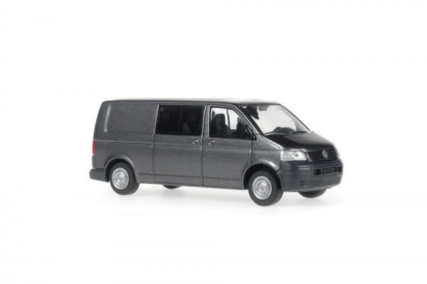Volkswagen T5 Bus LR FD hinten zu metallic, 1:87
