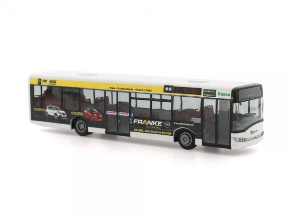 Solaris Urbino 12 Stadtbus Weiden Opel Franke, 1:87