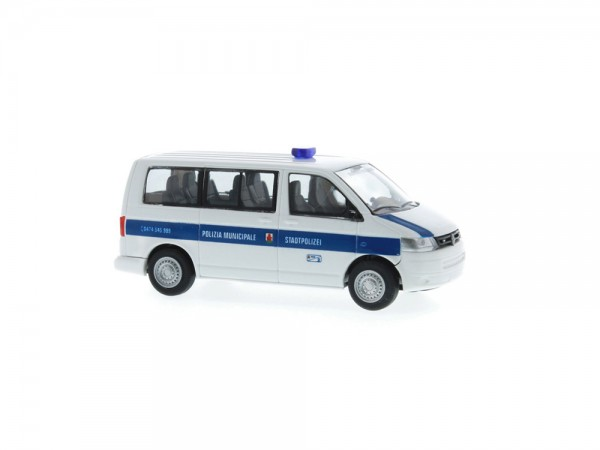 Volkswagen T5 ´10 Bus KR FD Polizia Municipale (IT), 1:87