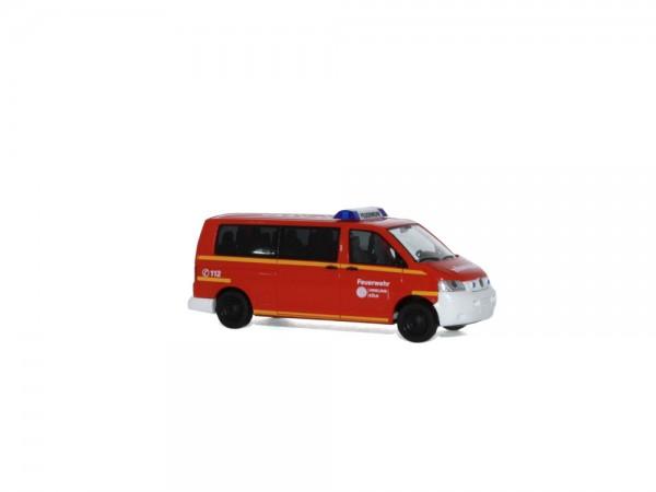 Volkswagen T5 Feuerwehr Uniklinik Köln, 1:87