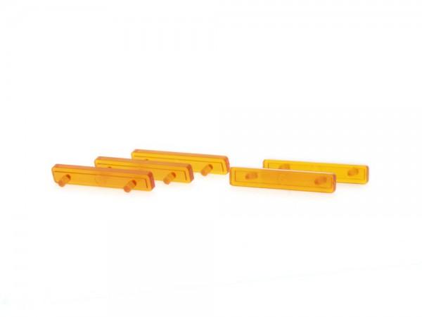 LED Balken für Pkw orange (5 Stück), 1:87