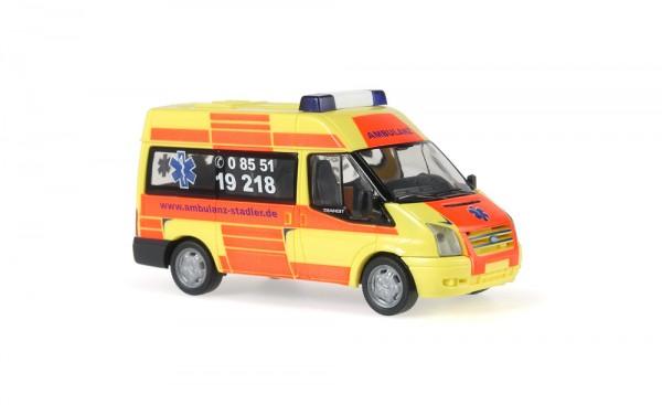 Ford Transit 06 Ambulanz Stadler, 1:87
