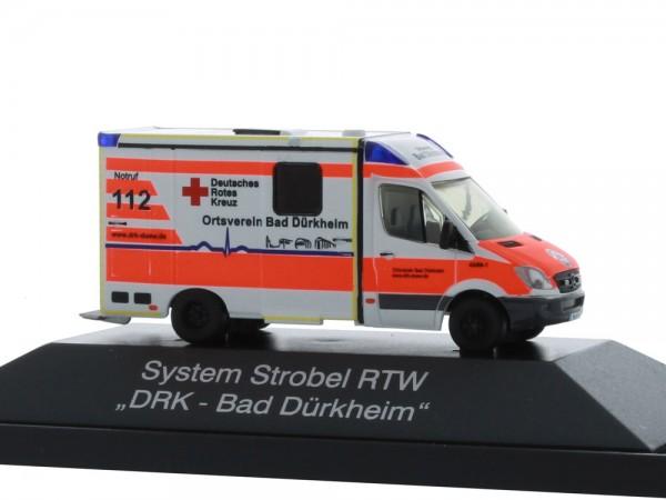 System Strobel RTW DRK Bad Dürkheim, 1:87