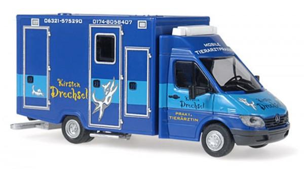 WAS Mercedes Benz Sprinter RTW Tierarztpraxis Drechsel, 1:87