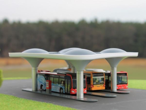 moderner Busbahnhof, 1:87