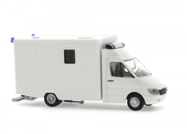 WAS Mercedes Benz Sprinter '98 RTW Klapptür weiß, 1:87
