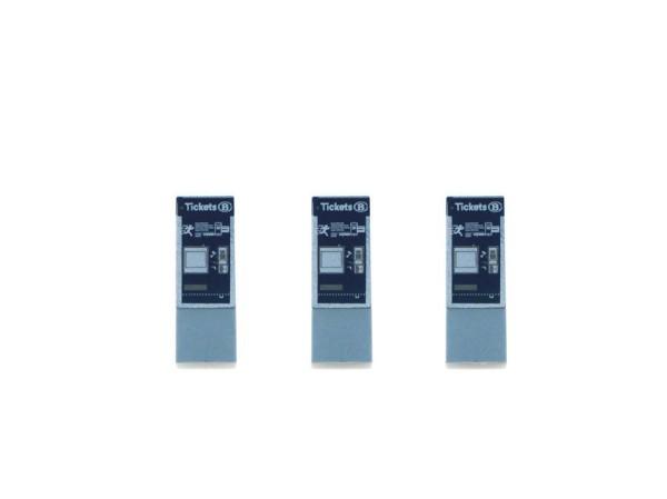 Fahrkartenautomat 3 Stück nmbs & sncb (BE), 1:87